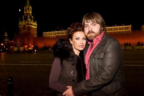 Бледанс с супругом