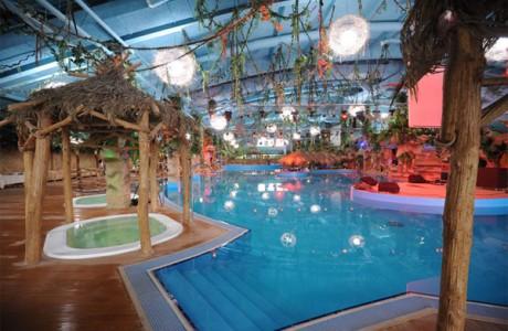 «День в аквапарке Dream Island для семьи»