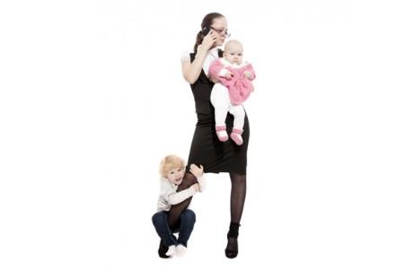Треть жизни отнимает материнство