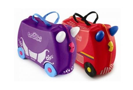 Детский чемодан Trunki Freddie и Penelope