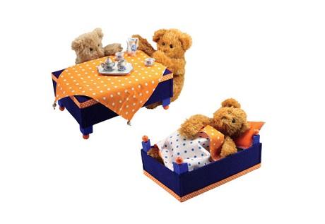 Столик-кроватка для детской игрушки