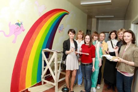 В Киеве стартовал социальный проект «Цвета жизни»