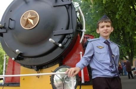 Сезон на детской железной дороге
