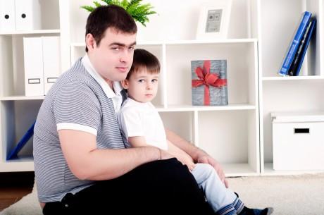 Отцы при разводе хотят оставить деток
