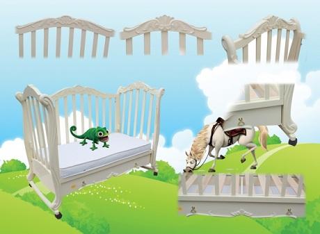 """Детская кроватка """"Трия Элегант"""""""