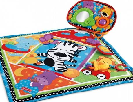 """Развивающий коврик """"Зоопарк"""" для новорожденных"""