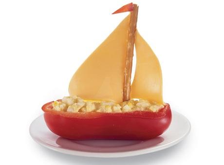 Рецепт недели: закуска в виде кораблика