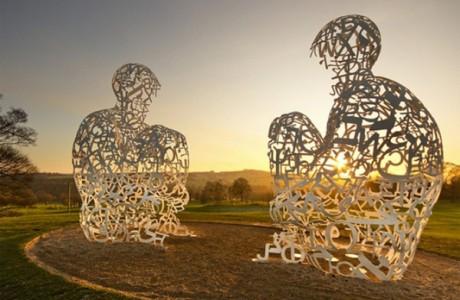 Как развлечь ребенка - фестиваль скульптур