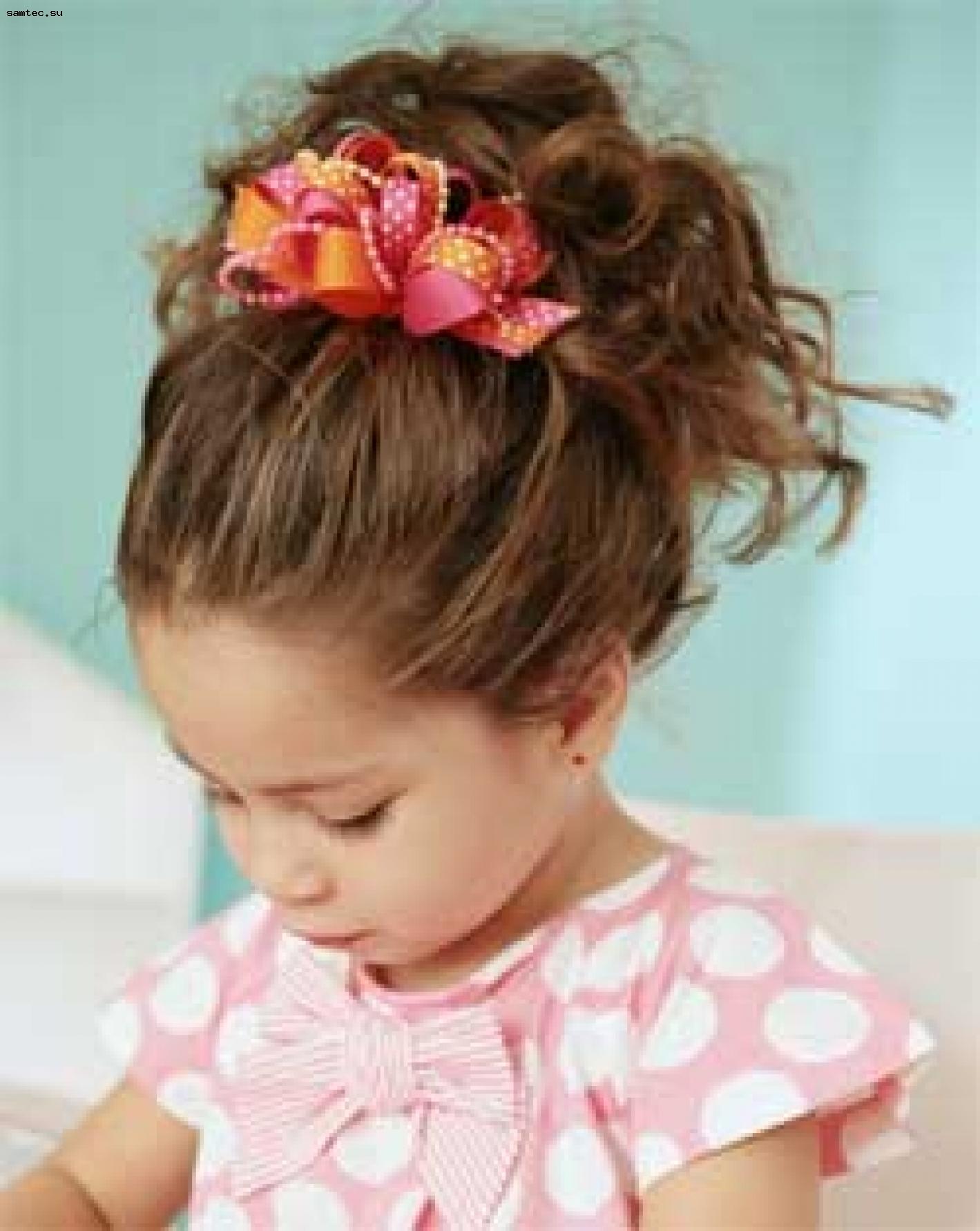 Детские прически для девочек и как их делать на свадьбу