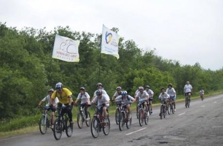 Велопробег Мир без сирот