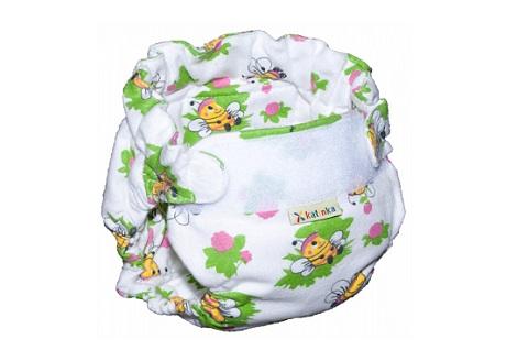 Домашний фланелевый подгузник - подарок для ребенка