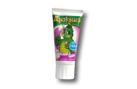 Дракоша bubble gum - детские зубные пасты