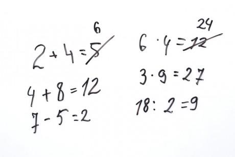18-месячные дети понимают математику