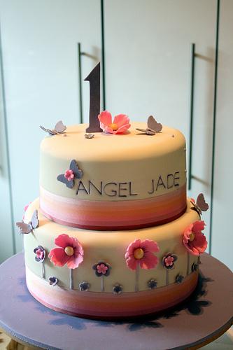 Торт на первый день рождения фотоидеи