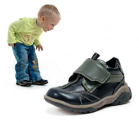 Ребенку обувь должна нравиться
