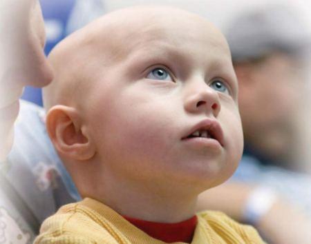 Лечение онкобольных детей