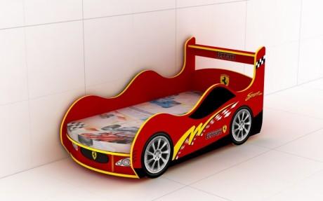 Кровать-машинка для детей Sport-KM-280