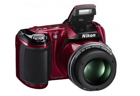 Nikon Coolpix L810 red в подарок