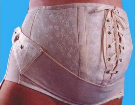 Бандаж для беременных на шнуровке