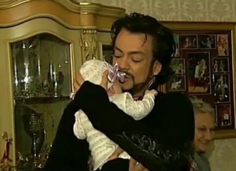 Филипп Киркоров отец-одиночка