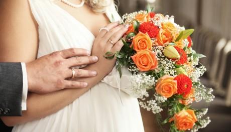 Наряд для беременной невесты