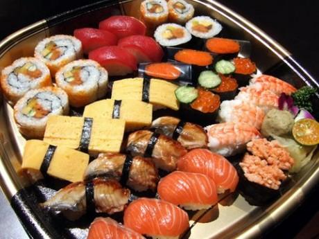 Подарок для беременной - мастер-класс по суши
