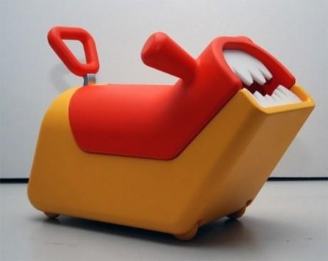 Детские игрушки можно хранить вот так