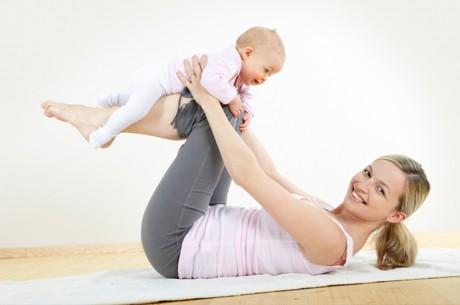 Восстановление тела после родов