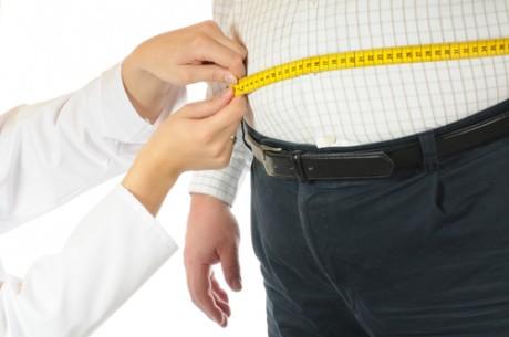 Лишний вес мужчины