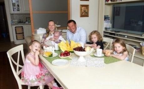 Владимир Соловьев в семье