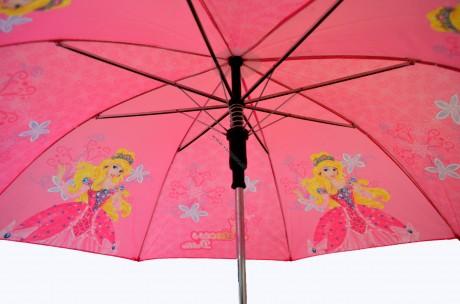 Ручка зонтика должна быть тщательно закреплена на стержне