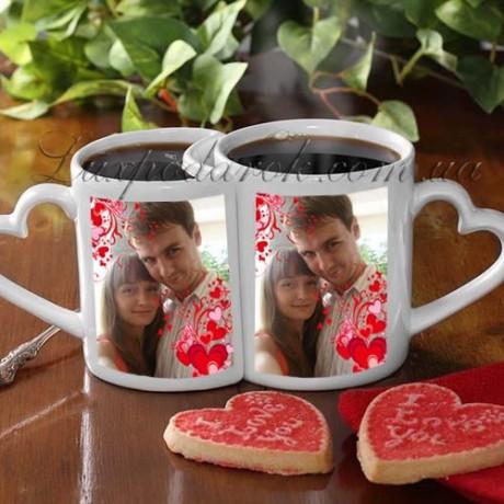 Подарок для беременной: набор чашек с фото