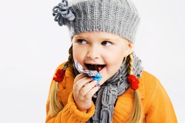 Сахар и детский рацион