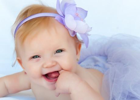 Первые фото малыша