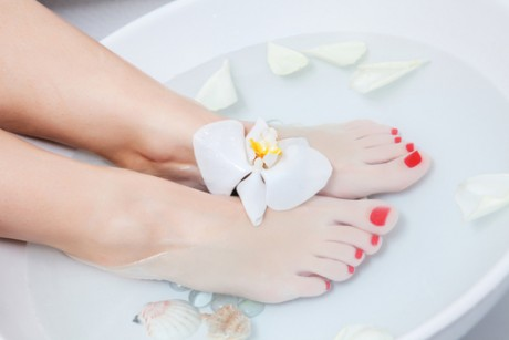 Теплые ванночки с аромомаслами