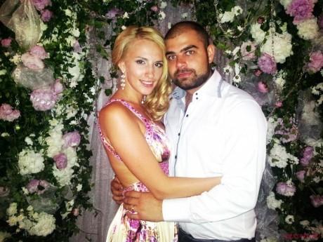Ольга Гажиенко с супругом