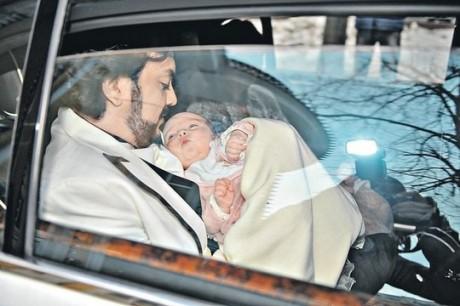 Алла-Виктория Киркорова с отцом