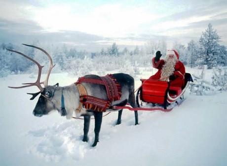 Еще один вариант - едем на родину Санта Клауса в Финляндию!