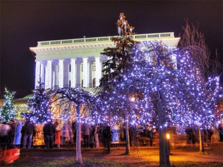 Рождественский поселок на Крещатике. Каким он будет?
