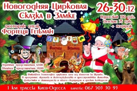 """""""Новогодняя цирковая сказка в замке"""""""