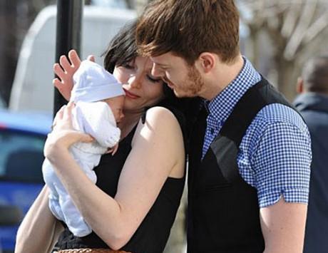 Софи Эллис-Бэкстор с долгожданным малышом
