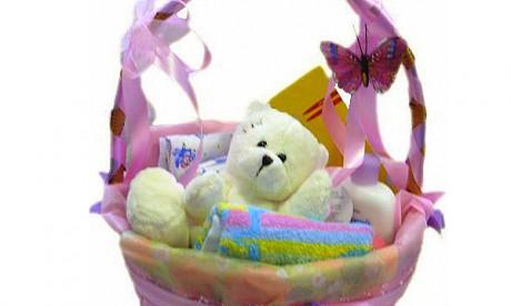 Подарок недели для беременной: праздничная корзина