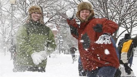 Ударил учителя снежком – плати штраф!